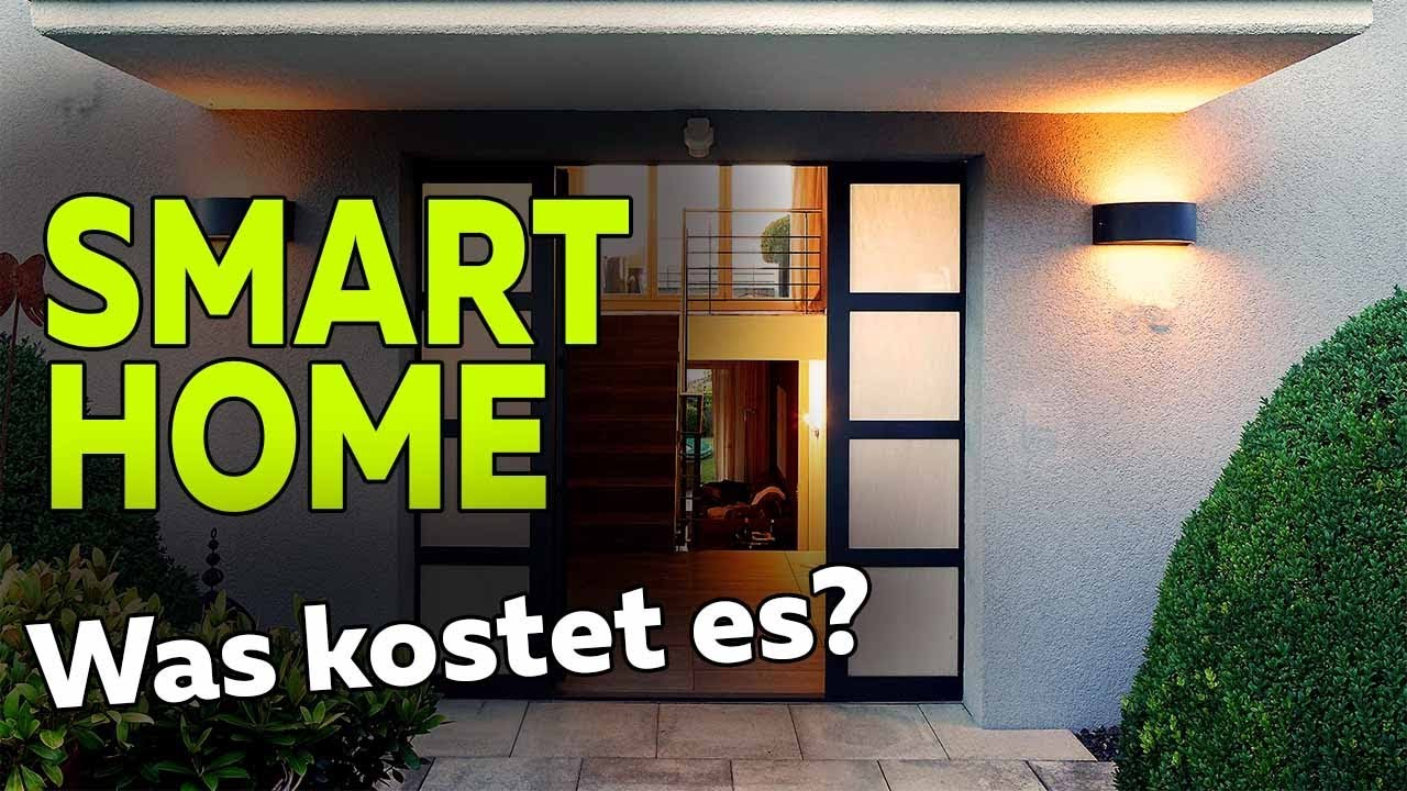 was kostet ein intelligentes haus im neubau grundst ck mit baukosten smartest home folge. Black Bedroom Furniture Sets. Home Design Ideas