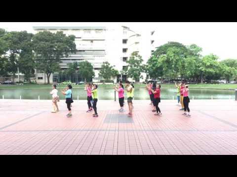 Line Dance : ชมรมไลน์แดนซ์ มสธ. เพลงToo much so much very much By ครูฟิก