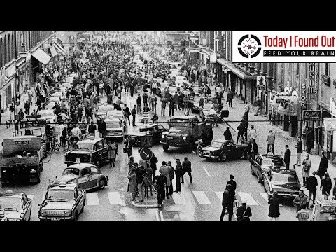 That Time Sweden Changed Its Traffic Direction in a Single Day