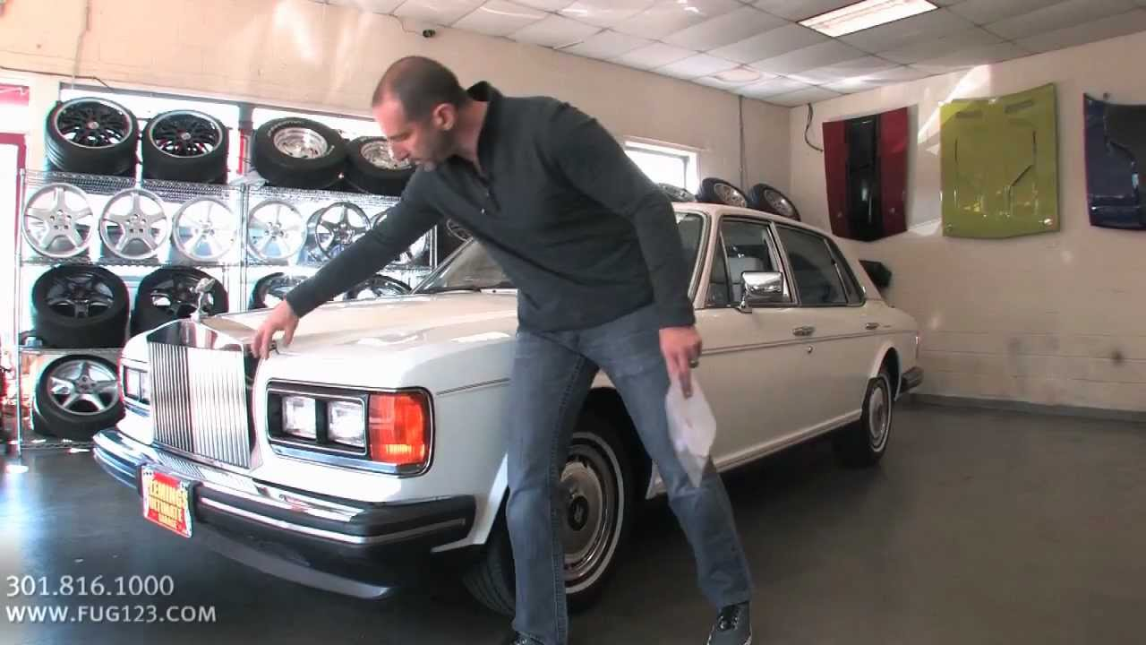 1991 Rolls Royce Silver Spur II For Sale With Test Drive Driving Sounds And Walk Through Video