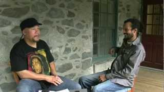 Poet Tony Medina (right) speaks with Truth Thomas about Social Justice (Part 1)