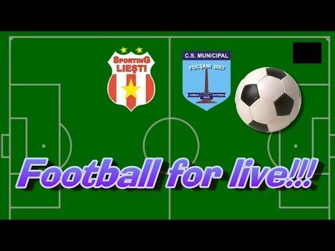Fotbal  Liga a III-a: CS Sporting Liești vs CSM Focșani 2007