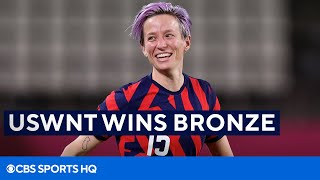 USWNT Wins The Bronze Medal at the 2020 Tokyo Olympics