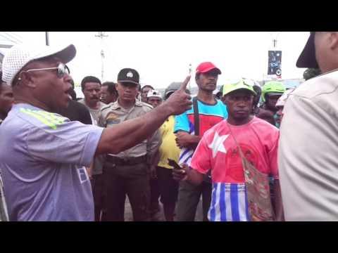 Video dan Foto Demo NFRPB Mendukungan Tim Pencari Fakta Ke West Papua