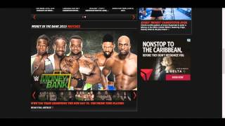 WWE Money in The Predictions by EdgePunk (6-14-15)