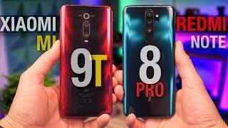 БУНТ В СЕМЬЕ XIAOMI. MI 9T или Redmi Note 8 pro?