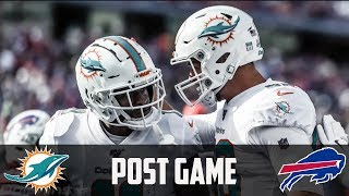 Miami Dolphins vs Buffalo Bills Week 7 Post Game Recap