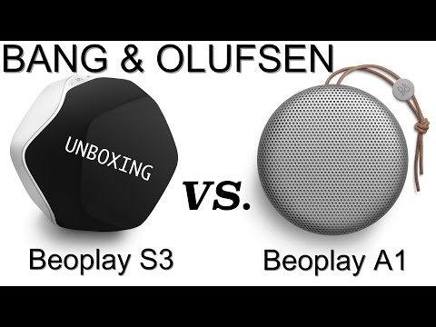 Beoplay S3 UNBOXING распаковка и звук VS. Beoplay A1