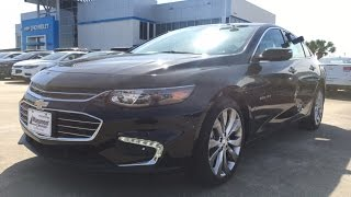 2017 Chevrolet Malibu Premier w/Self parking & Panoramic Roof