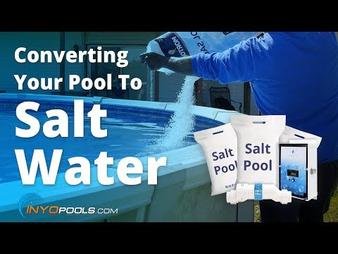 Converting Your Pool To Salt Water