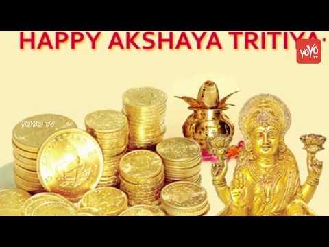 Today Gold Rates In India - Akshaya Tritiya 2018 Leads Gold Price Run - Silver Price Today | YOYO TV