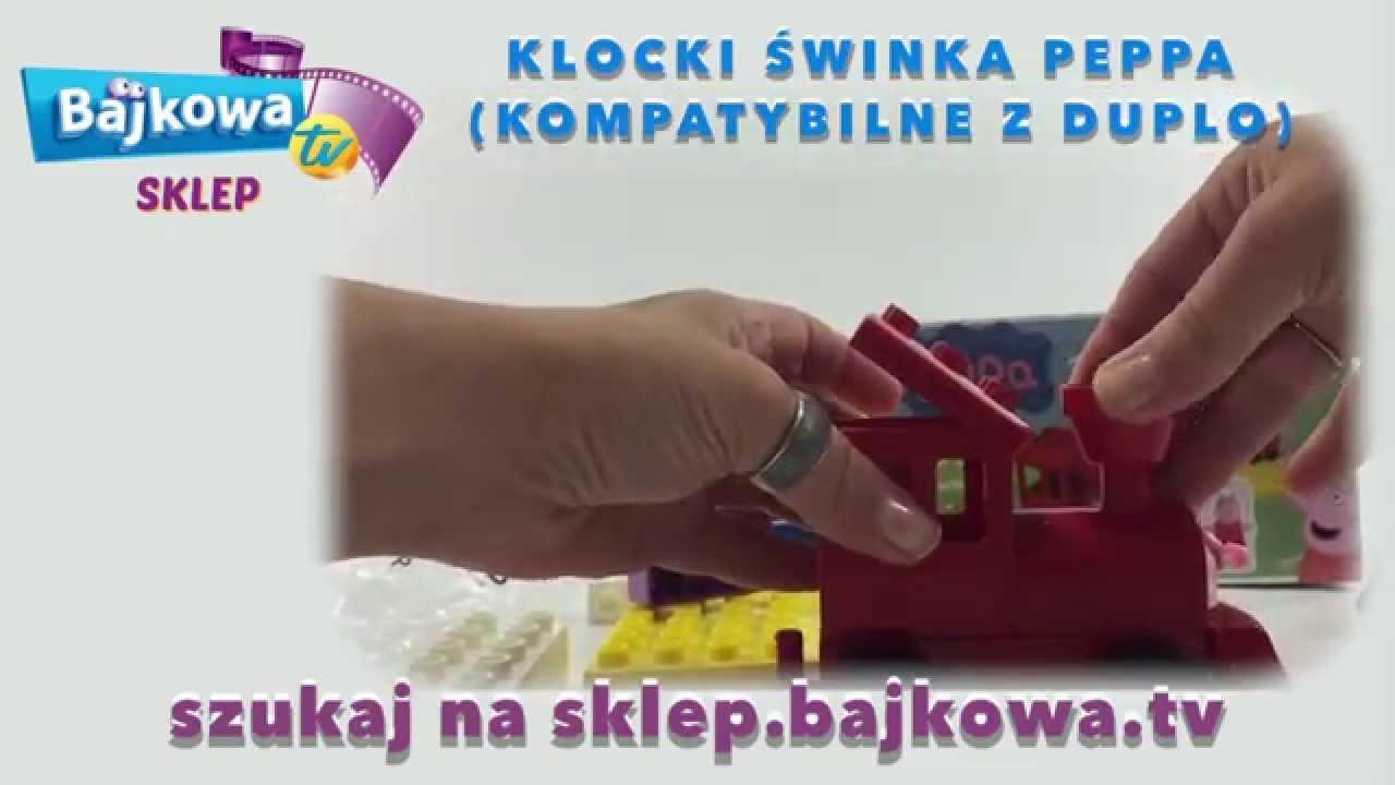 świnka Peppa Klocki Kompatybilne Z Duplo Youtube