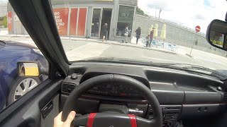 Fiat Uno Turbo i.e. Go Pro Test Drive Porreca
