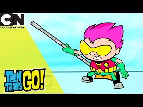 Teen Titans Go!   Robin's Baby   Cartoon Network