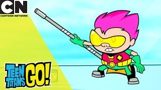 Teen Titans Go! | Robin's Baby | Cartoon Network