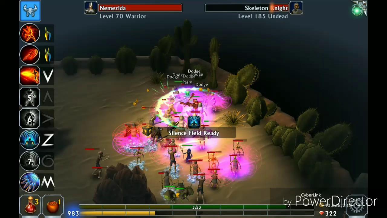 Eternium  2 mukraisers warrior trial run