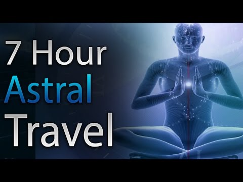 🎧 Travel the Astral Planes - ASTRAL PROJECTION SLEEP MUSIC - Binaural Beats Isochronic Tones