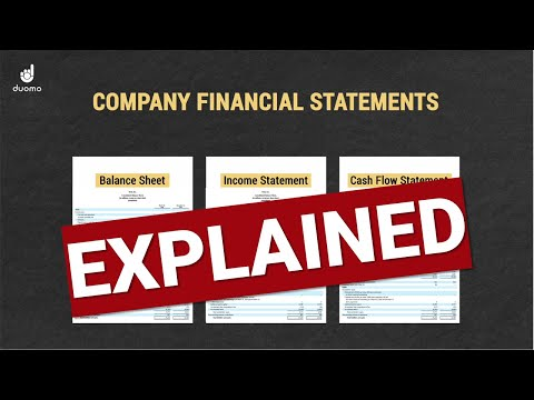 How To Read Company Financial Statements - Explained (The Basics)