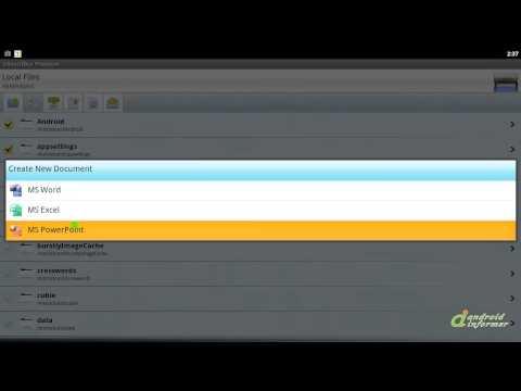Olive Office Premium quick demo
