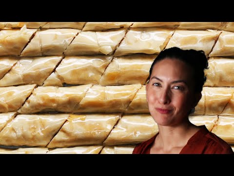 How To Make A Classic Baklava With Sarah • Tasty