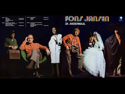 Fons Jansen 1968  3X Andermaal  Compilatie
