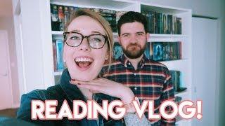 READING VLOG: Making My Boyfriend Read YA!!