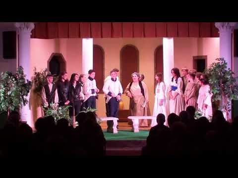 Much Ado About Nothing as performed by the Grove City Christian Academy
