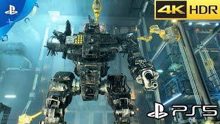 MechWarrior 5: Mercenaries (PS5) Gameplay 4K HDR 60FPS