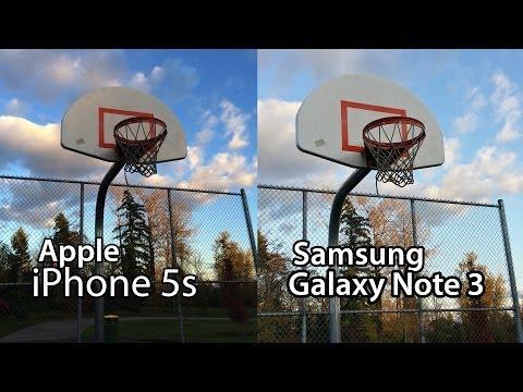 Samsung Galaxy Note 3 vs. iPhone 5s - Ultimate Camera Comparison