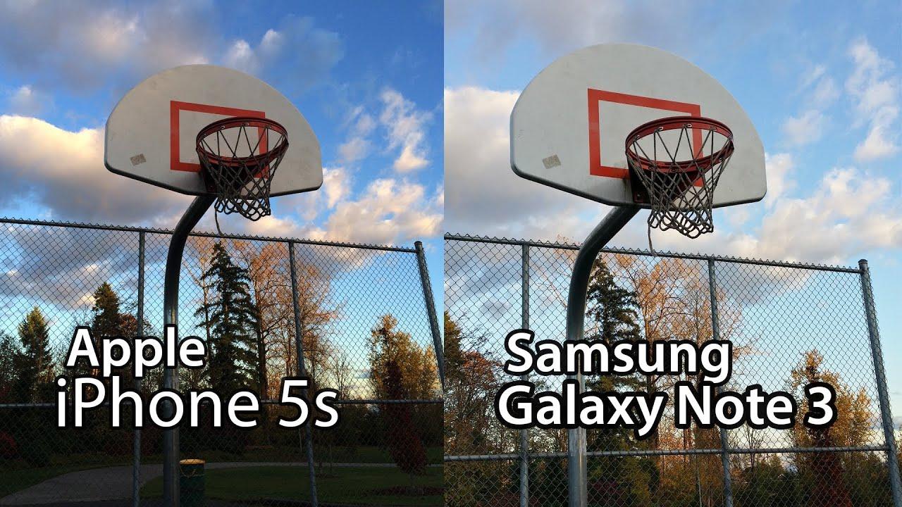 Samsung Galaxy Note 3 vs. iPhone 5s - Ultimate Camera Comparison ...