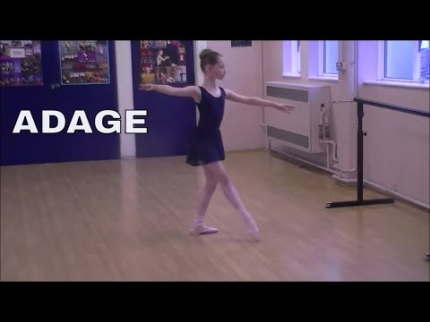 Grade 3 Ballet Adage. RAD exam preparation|| Age 9