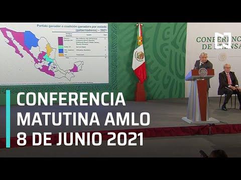 AMLO Conferencia Hoy / 8 de Junio 2021