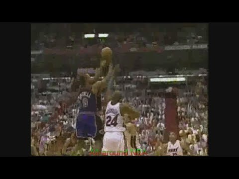 NBA Duels: Latrell Sprewell 24 Pts Vs. Jamal Mashburn 21 Pts, 2000 Playoffs Game 5.