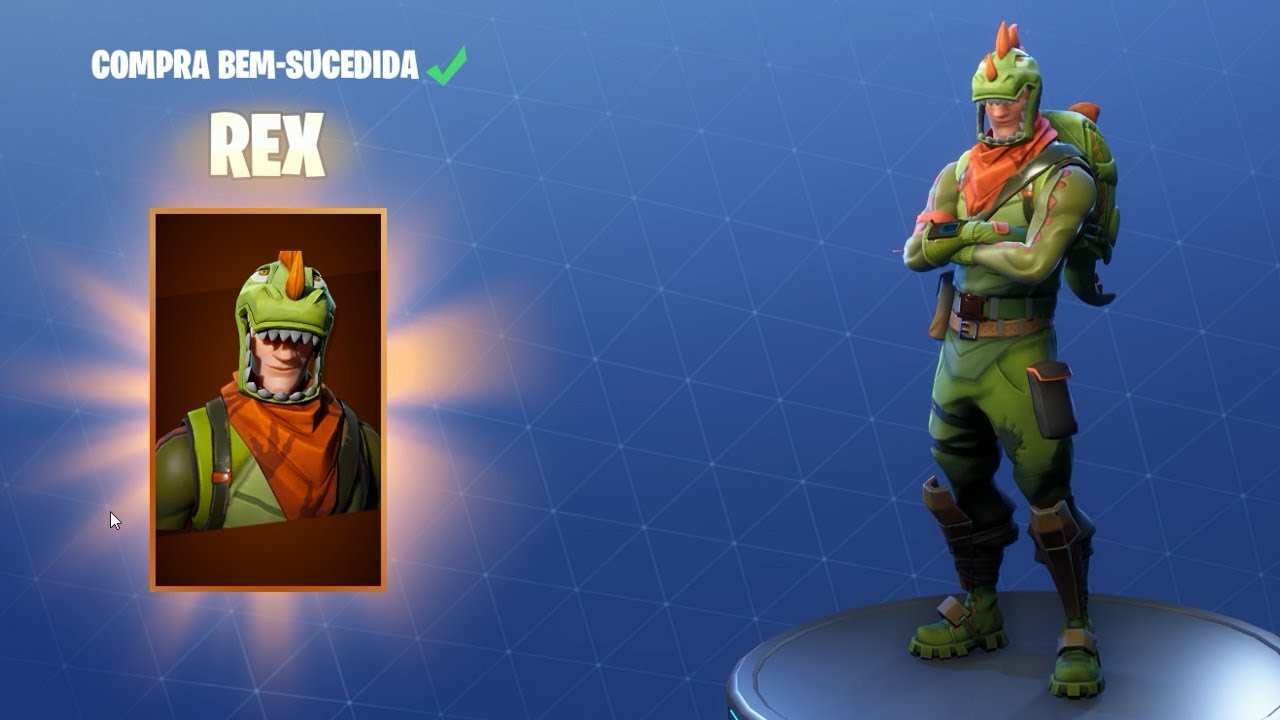 Skin do rex no fortnite melhor skin mayconlorenz youtube - Rex from fortnite ...