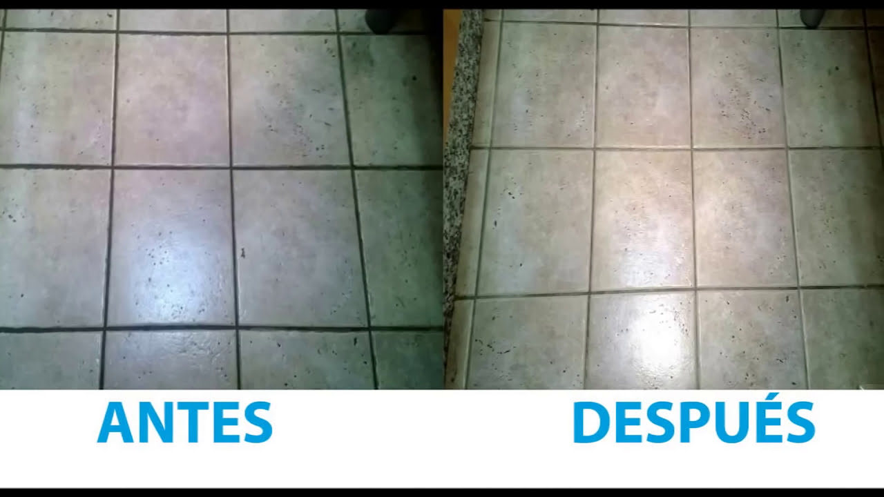 Limpiar eficazmente las juntas de los azulejos del suelo y