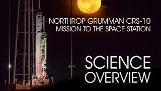 ISS National Lab Northrop Grumman CRS-10 Science Overview
