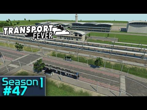 Tram jam    Transport Fever S1 #47 [1440p][GER]