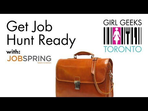 Get Job Hunt Ready