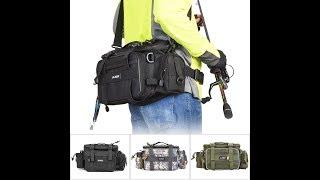 многофункциональная рыболовная сумка LEO для ходовой спиннинговой рыбалки!
