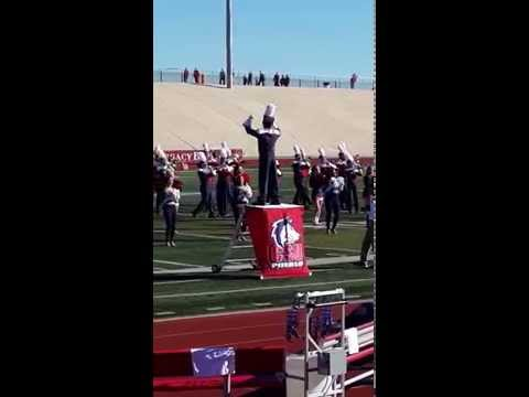CSU-Pueblo Thunderwolves Marching Band and fight song