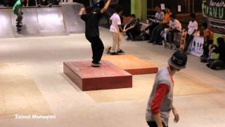 Ramadhan Skateboard Manual Box Challenge 2012 Highlights