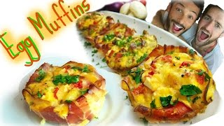 How To Make Egg Muffins - Quiche Recipe - Sexy Funny Kitchen #18