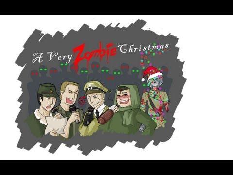 Nazi Zombies Last Stand Christmas Round 11 Start (HD)