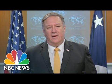 Mike Pompeo Announces U.S. Withdrawal From Nuclear Treaty With Russia | NBC News