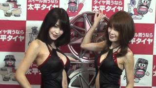 Final posing at closing of the Osaka Auto Meese.