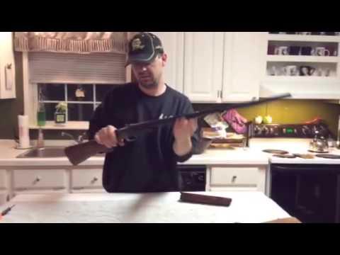 Winchester model 370 field strip