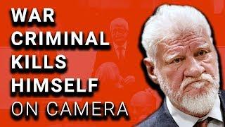 War Criminal Kills Himself on Camera