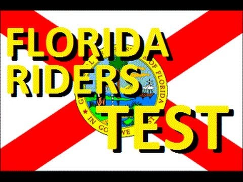 Flashbacks: Florida Motorcycle Riding Test