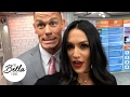 Behind The Scenes Of The Today Show With John Cena And Nikki Bella video