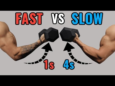 Slow Reps vs Fast Reps for Muscle Growth